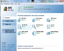 AVG System Status