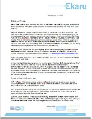 how to create a letterhead