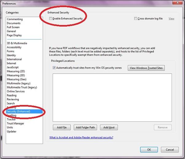 pdf file won t open