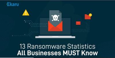13 Ransomeware Statistics