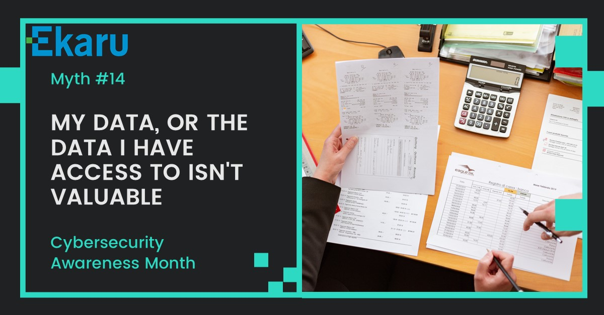 Cybersecurity Awareness Month - Myth 14