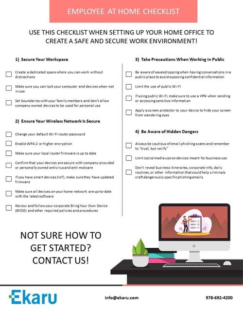 Employee-WFH-Checklist_Ekaru