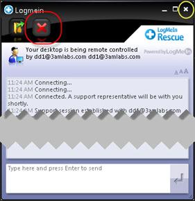 LogMeIn Disconnect