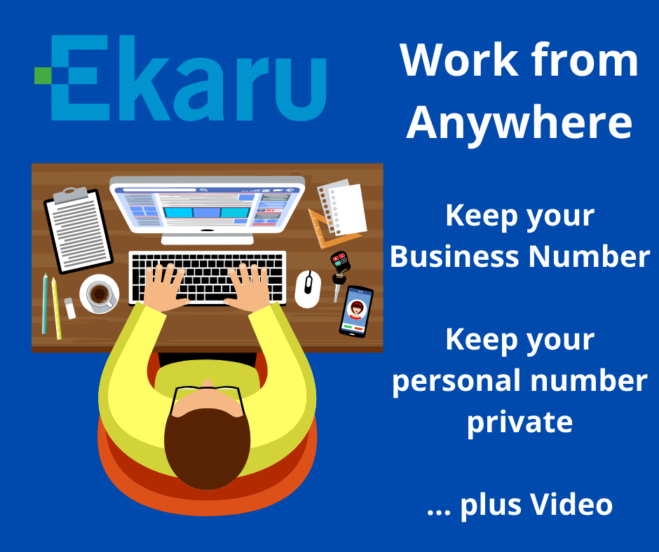 Take your business calls from Anywhere While maintaining your Business Number