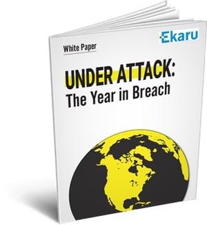 Year in Breach - eBook Landing Page Ekaru