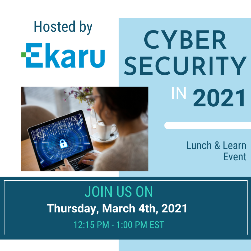 3/4/2021 - Cybersecurity in 2021