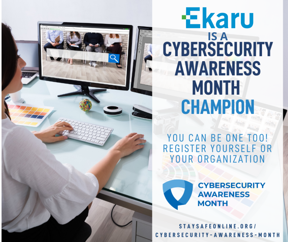 Ekaru Announces Commitment to Global Efforts Advocating for Cybersecurity and Online Behavior Change during Cybersecurity Awareness Month