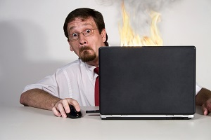 Laptop-Disaster