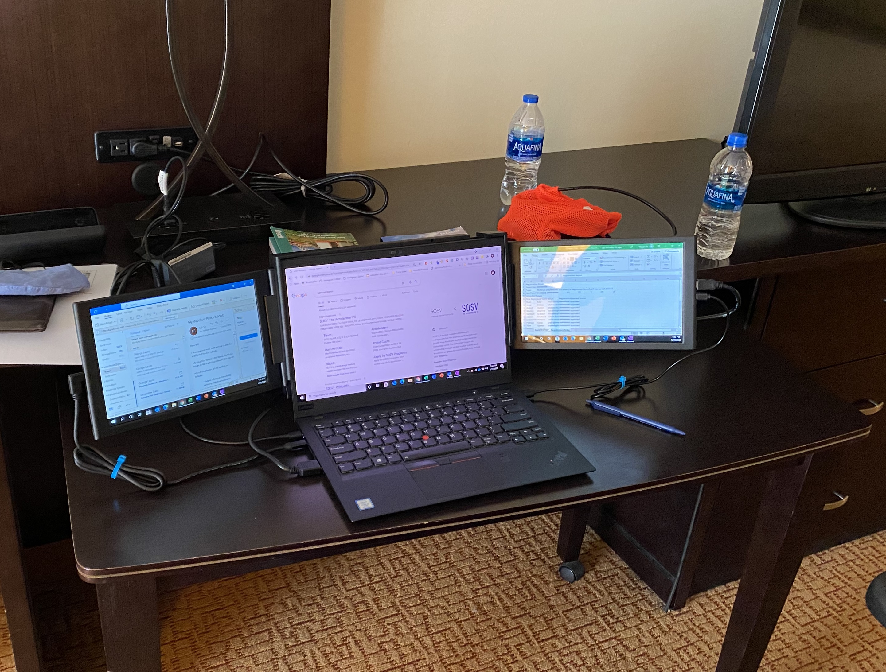 Work from Anywhere? Add extra screens to your laptop!